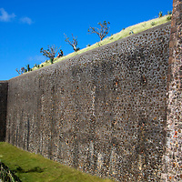 France, Guadeloupe, Les Saintes. The Fort Napoleon on the island of Terre-de-Haut, Guadeloupe.