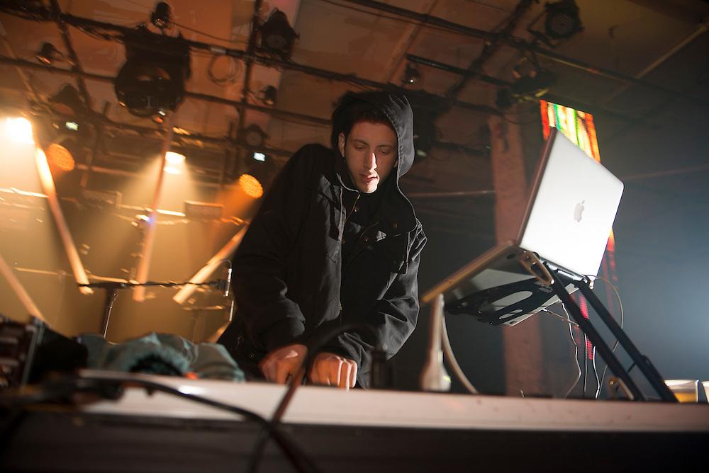 Shlohmo (US), Nocturne 2, Société des arts technologiques [SAT], Montreal, 31 mai 2012
