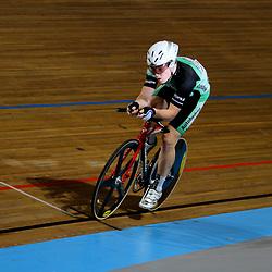 Dennis Looij werd derde op de kilomter voor junioren