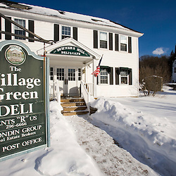 The Village Green Deli in Quechee, Vermont.