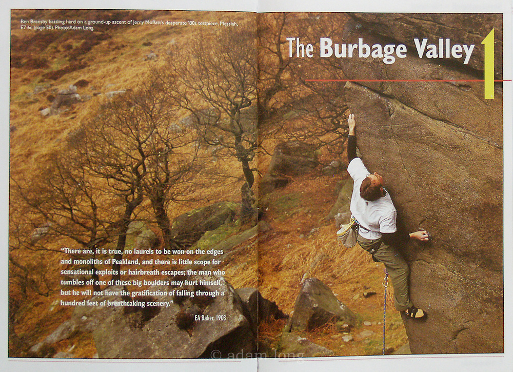 Spread, BMC Burbage & Beyond Guidebook