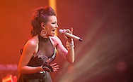 Maria Jose performs at Teatro Metropolitan in Mexico city