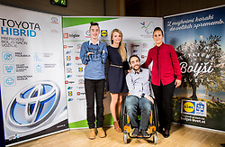 Swimming team of Nino Batagelj during Slovenian Disabled Sports personality of the year 2017 event, on December 6, 2017 in Austria Trend Hotel, Ljubljana, Slovenia. Photo by Vid Ponikvar / Sportida