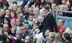 15.04.2013, Anfield Road, Liverpool, ENG, PL, Liverpool FC, 24. Jahrestag der Hillsborough Katastrophe, im Bild Liverpool's owner John W. Henry during the 24th Anniversary Hillsborough Service at Anfield, Liverpool, United Kingdom on 2013/04/15. EXPA Pictures © 2013, PhotoCredit: EXPA/ Propagandaphoto/ David Rawcliffe..***** ATTENTION - OUT OF ENG, GBR, UK *****