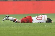 POZNAN 17/11/2010.FOOTBALL INTERNATIONAL FRIENDLY.POLAND v IVORY COAST.Ludovic Obraniak of Poland ..Fot: Piotr Hawalej / WROFOTO