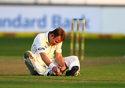 Neil Wagner during day one of the first test match between South Africa and New Zealand held at the Kingsmead stadium in Durban, KwaZulu Natal, South Africa on the 19th August 2016<br /> <br /> Photo by:   Anesh Debiky / Real Time Images