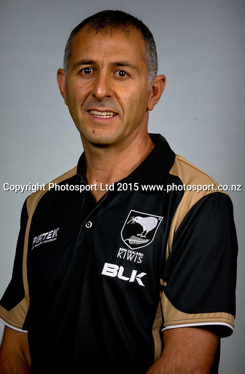 Joe Wehbe. Headshot and Portrait. Kiwis Test Squad for the ANZAC rugby league test match against Australia in Brisbane. Pullman Hotel, Brisbane. Monday 27 April 2015. Copyright photo : Patrick Hamilton / www.Photosport.co.nz