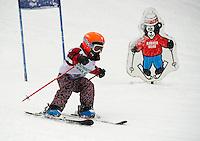 Klaus' Midget race with Gunstock Ski Club Wednesday, February 27, 2013.    Karen Bobotas Photographer
