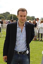 The MARQUESS OF BRISTOL at the Cartier International polo at Guards Polo Club, Windsor Great Park on 29th July 2007.<br />
