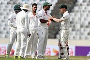 Bangladesh V Australia 1st test, day 3 - 29 Aug 2017