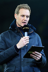 1st March 2017 - FA Cup - 5th Round (Replay) - Manchester City v Huddersfield Town - BBC Sport television (TV) presenter Dan Walker - Photo: Simon Stacpoole / Offside.