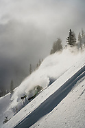April Pow Skiing