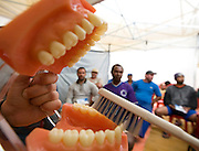 Pedro Leopoldo_MG, Brasil..Semana do transito em Pedro Leopoldo. Na foto palestra sobre higiene bucal...The week traffic in Pedro Leopoldo. In this photo, the lecture about the oral hygiene...Foto: LEO DRUMOND /  NITRO.