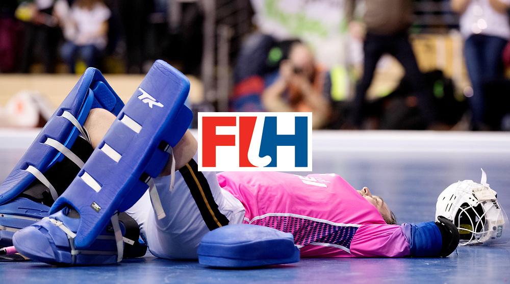 BERLIN - Indoor Hockey World Cup<br /> Final: Germany - Austria<br /> Austria wins the world championship.<br /> foto: Tobias Walter.<br /> WORLDSPORTPICS COPYRIGHT FRANK UIJLENBROEK
