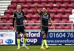 Liam Sercombe of Bristol Rovers celebrates scoring a goal to make it 5-0 - Mandatory by-line: Robbie Stephenson/JMP - 07/10/2017 - FOOTBALL - Sixfields Stadium - Northampton, England - Northampton Town v Bristol Rovers - Sky Bet League One