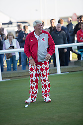 John Daly. Alfred Dunhill Links Championship this morning at St Andrews.