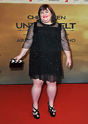Cassandra Clare arrives for the 'The Mortal Instruments: City of Bones' Germany premiere at Sony Centre on Tuesday August 20, 2013 in Berlin, Germany. Photo by Schneider-Press / John Farr / i-Images. <br /> UK & USA ONLY