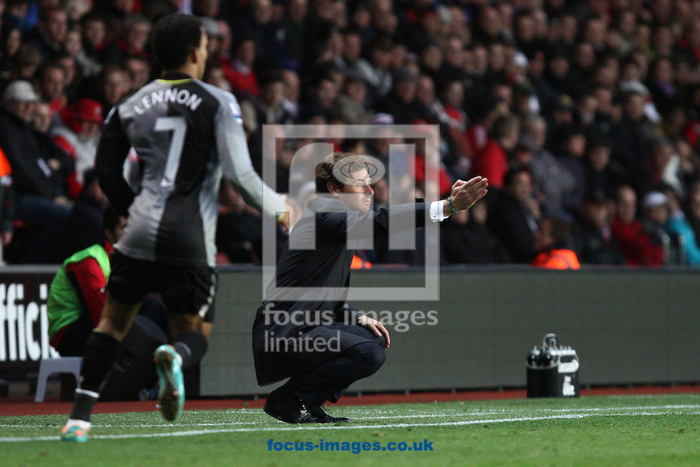 Picture by Daniel Chesterton/Focus Images Ltd +44 7966 018899.28/10/2012.Tottenham manager Andre Villas Boas during the Barclays Premier League match at the St Mary's Stadium, Southampton.