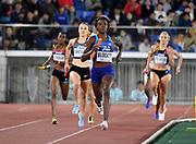 May 12, 2019; Yokohama, JPN; Jas blocker runs the third leg on of the United Sates mixed 4 x 400m relay that won in 3:16.43 during the IAAF World Relays at International Stadium Yokohama.