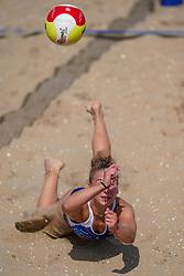 23-08-2019 NED; DELA NK Beach Volleyball Qualification, Scheveningen<br /> First day NK Beachvolleyball / Ana Rekar