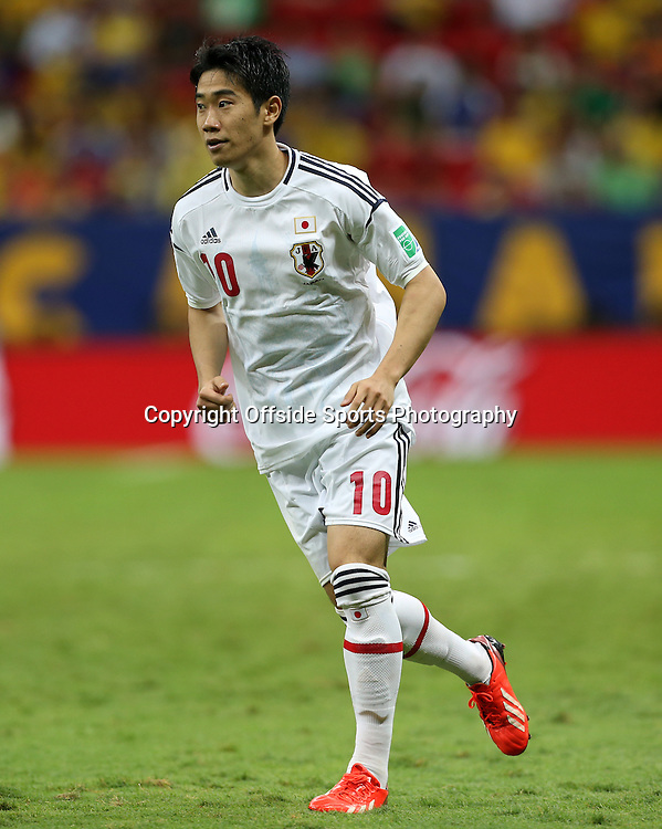 15th June 2013 - FIFA Confederations Cup 2013 - Brazil v Japan - Shinji Kagawa of Japan - Photo: Simon Stacpoole / Offside.