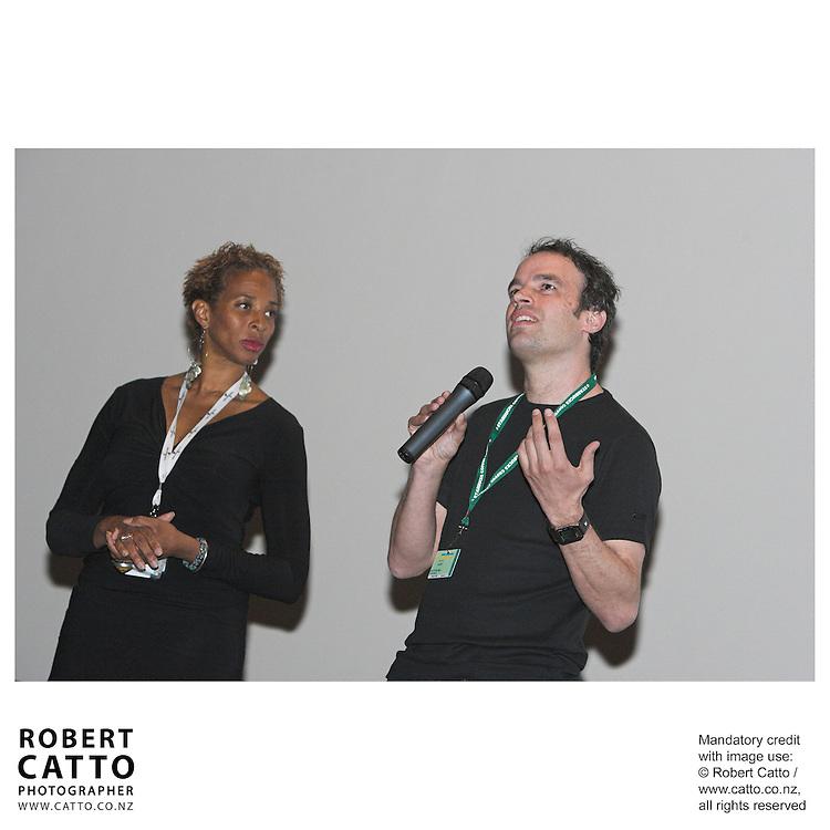 Robert Sarkies at the Toronto International Film Festival 2006 at the Paramount Theatre, Toronto, Ontario, Canada.
