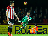 David Button of Brentford during the Sky Bet Championship match between Brentford and Hull City at Griffin Park, London<br /> Picture by Mark D Fuller/Focus Images Ltd +44 7774 216216<br /> 03/11/2015