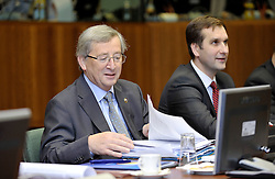 Jean-Claude Juncker, Luxembourg's prime minister, attends the European Summit in Brussels, Thursday, Oct. 29, 2009. (Photo © Jock Fistick)