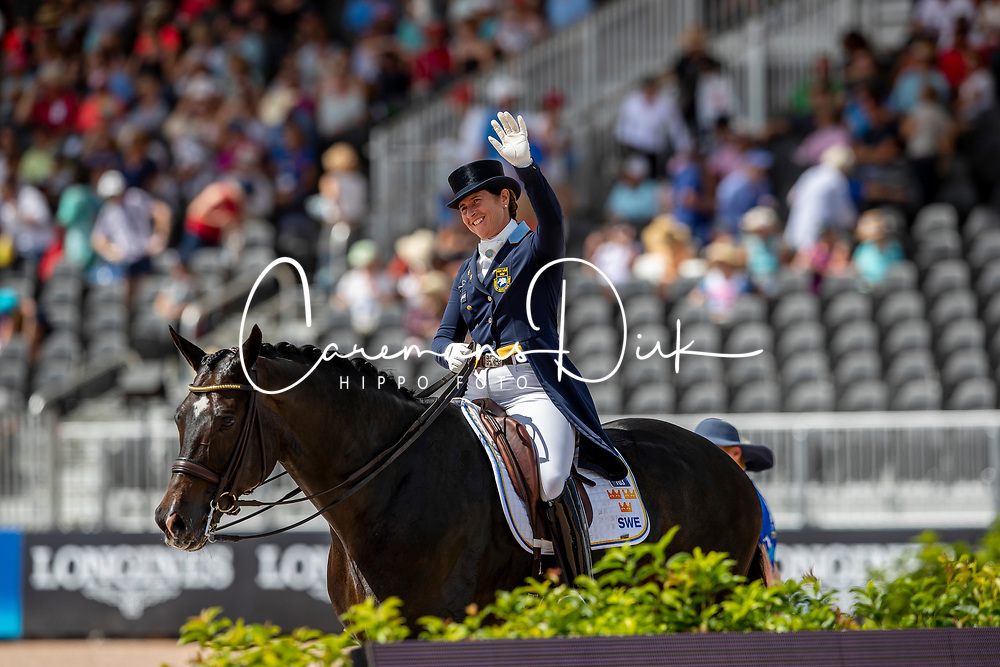 Vilhelmson Silfven Tinne, SWE, Don Auriello<br /> World Equestrian Games - Tryon 2018<br /> © Hippo Foto - Dirk Caremans<br /> 14/09/18