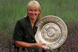 File photo dated 04-07-1998 of Ladies Wimbledon Champion Jana Novotna.