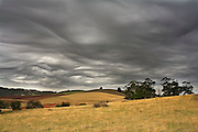 Frontal Clouds - Tasmania..Frontal clouds preceed a cold front in northern Tasmania