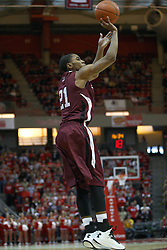 02 February 2013:  Josh Swan during an NCAA Missouri Valley Conference mens basketball game where the Salukis of Southern Illinois lost to the Illinois State Redbirds for Retro-Night 83-47 in Redbird Arena, Normal IL