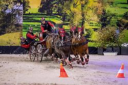 Voutaz Jerome, SUI, Belle du Peupe CH, Fee des Moulins, Flash Des Moulins, Folie des Moulins<br /> JIM Maastricht 2018<br /> © Hippo Foto - Dirk Caremans<br /> 24/11/2018