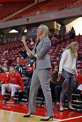 10 December 2017: Kristen Gillespie during an College Women's Basketball game between Illinois State University Redbirds and the Eagles of Eastern Michigan at Redbird Arena in Normal Illinois.