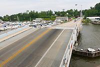Sasafrass river draw bridge
