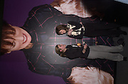 Adele Newell, Lisa Godfrey.Lady McAlpine & Vivienne Westwood exhibition. Museum of London. 6 April 2000<br />© Copyright Photograph by Dafydd Jones 66 Stockwell Park Rd. London SW9 0DA Tel 0171 733 0108 www.dafjones.com