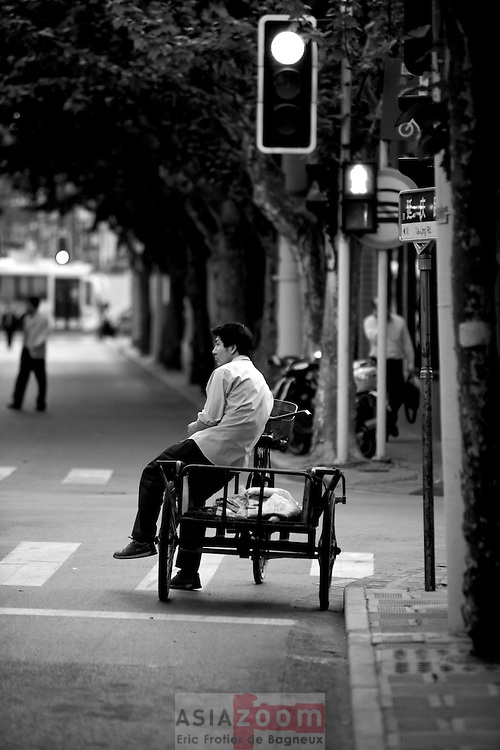 Changle lu, Shanghai, China Mai 2007