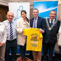 Martina Morton, John Togher (Pieta House), Cloddagh Lennon, Kieran O'Brien (Pieta House), Cllr Tony O'Brien (Deputy Mayor of Clare) and Sinead Cullinane.<br /> The Shannon Committee of the Darkness into Light walk in aid of Suicide by Pieta House