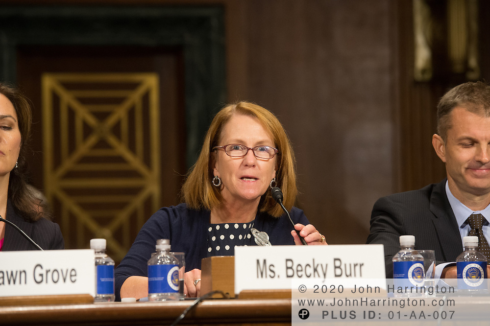 "J. Beckwith (""Becky"") Burr, Deputy General Counsel and Chief Privacy Officer, Neustar testifies Wednesday September 14, 2016, before the Subcommittee on Oversight, Agency Action, Federal Rights and Federal Courts, testimony was also heard from The Honorable Lawrence E. Strickling, Assistant Secretary for Communications and Information and Administrator<br /> National Telecommunications and Information Administration (NTIA), United States Department of Commerce;  Mr. Göran Marby, CEO and President, Internet Corporation for Assigned Names and Numbers (ICANN); Mr. Berin Szoka, President, TechFreedom; Mr. Jonathan Zuck, President, ACT The App Association;  Ms. Dawn Grove, Corporate Counsel<br /> Karsten Manufacturing; Ms. J. Beckwith (""Becky"") Burr, Deputy General Counsel and Chief Privacy Officer, Neustar;  Mr. John Horton, President and CEO, LegitScript;  Mr. Steve DelBianco, Executive Director, NetChoice; Mr. Paul Rosenzweig, Former Deputy Assistant Secretary for Policy, U.S. Department of Homeland Security."