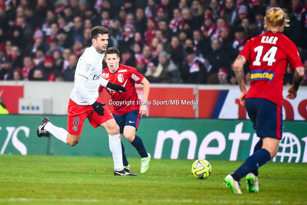 Thiago MOTTA - 03.12.2014 - Lille / Paris Saint Germain - 16eme journee de Ligue 1 -<br />Photo : Fred Porcu / Icon Sport