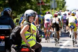 Ana Kovac of Planet at 2nd stage of Tour de Slovenie 2009 from Kamnik to Ljubljana, 146 km, on June 19 2009, Slovenia. (Photo by Vid Ponikvar / Sportida)