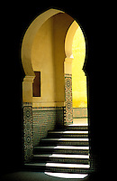 Maroc, Meknes, Le tombeau de Moulay Ismaïl