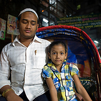 Civil servant with his daughter