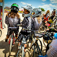 SARASOTA, FL -- April 23, 2011 -- BMX acers head into the cue during the National Bicycle League (NBL) Easter Classic in Sarasota, Fla., on Saturday, April 23.  Sarasota County Parks and Recreation and the Sarasota Convention and Visitors Bureau sponsored the event which drew over 1,000 riders and their fans to the area this weekend.  (PHOTO / CHIP LITHERLAND)