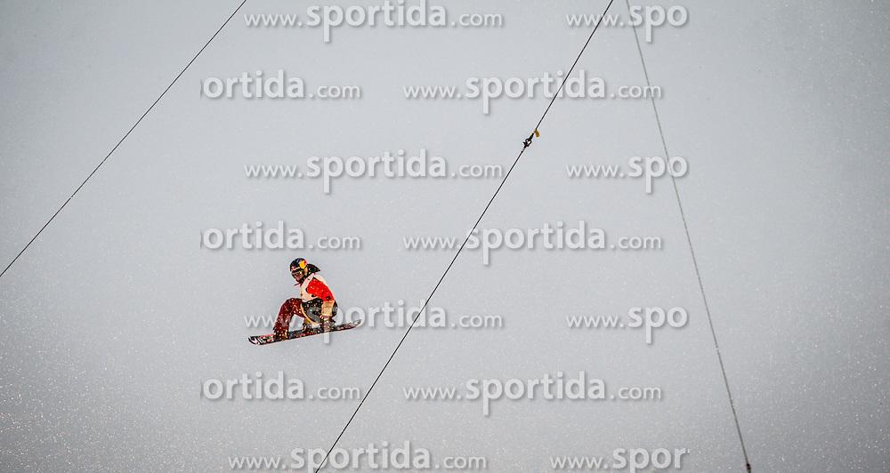 02.02.2013, Bergisel Stadion, Innsbruck, AUT, Billabong Air & Style 2013, im Bild Sebastien Toutant (CAN) // Sebastien Toutant (CAN) during the Billabong Air & Style 2013 at the Bergisel Stadium, Innsbruck, Austria on 2013/02/02. EXPA Pictures © 2013, PhotoCredit: EXPA/ Juergen Feichter