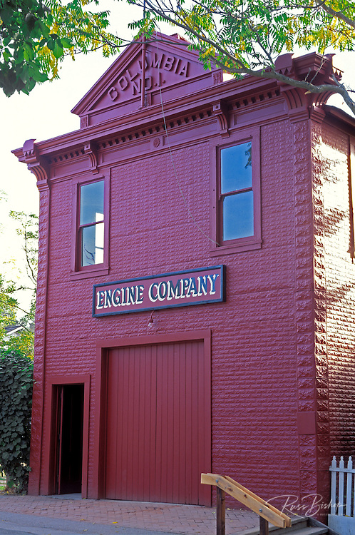 Engine Company Number One firehouse, Columbia State Historic Park, Highway 49, Gold Country, California