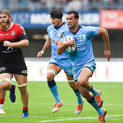 Henry IMMELMAN  of Montpellier  during the Top 14 match between Montpellier and Toulouse on October 19, 2019 in Montpellier, France. (Photo by Alexandre Dimou/Icon Sport) - Henry IMMELMAN - Altrad Stadium - Montpellier (France)
