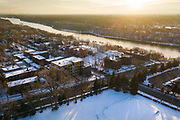 Drone photography at the Town and Country Club in , on Saturday, Jan. 4, 2020.