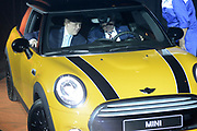 Koning Willem Alexander heropent VDL Nedcar. De autofabriek VDL Nedcar is omgebouwd en heringericht voor de productie van de nieuwe MINI in opdracht van BMW. <br /> <br /> King William Alexander reopens VDL Nedcar. The car factory VDL Nedcar has been converted and refurbished for the production of the new MINI commissioned by BMW.<br /> <br /> Op de foto / On the photo: <br />  Zijne Majesteit Koning Willem-Alexander samen met Wim van der Leegte, president-directeur VDL Groep, in de eerste MINI die bij VDL Nedcar in Born van de band rolde.<br /> <br /> His Majesty King Willem-Alexander together with Wim van der Void, president VDL Groep, the first MINI which rolled at VDL NedCar in Born of the band.