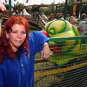 Cindy Niekerk, vakantiewerk bij speelpark oud Valkeveen